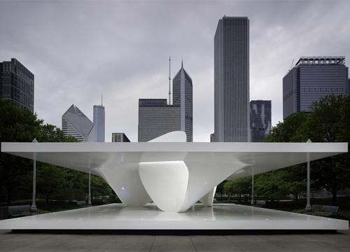 Burnham Pavilion by UN Studio, Millenium Park, Chicago