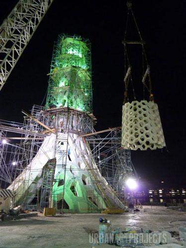 KAUST Beacon Construction Progress