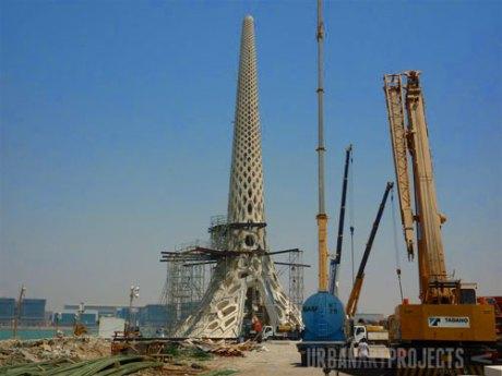 KAUST Beacon Construction Progress: Final module has been placed