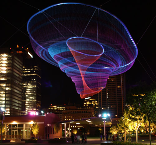 Temporary Public Art :  temporary art art installations echelman