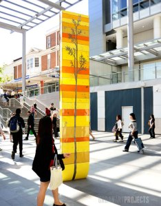 Chatswood Transport Interchange, Urban Art Projects, Daniel Tobin