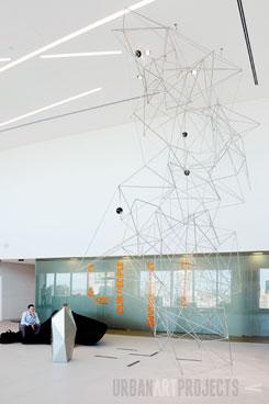 QGC Head Office, Urban Art Projects, Daniel Clifford
